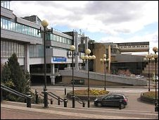 Part of the Town Centre in Cumbernauld